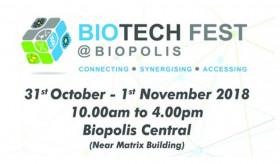 Biotech Fest @ Biopolis