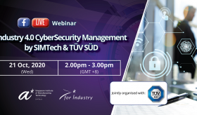 Industry 4.0 Cybersecurity Management (by SIMTech & TÜV SÜD)