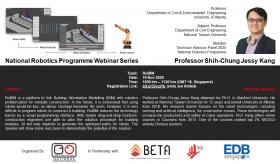 National Robotics Programme Webinar Series: RoBIM by Prof Jessy Kang