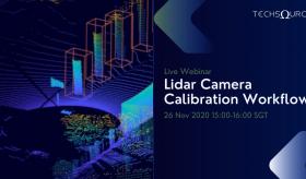 Lidar Camera Calibration Workflow