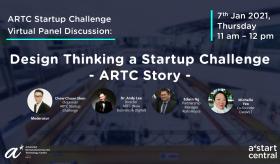 Design Thinking a Startup Challenge: ARTC Story