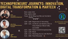 Technopreneurs' Journeys : Innovation, Digital Transformation & MarTech