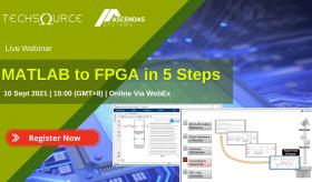 MATLAB to FPGA in 5 Steps