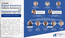 A*STAR Digital Emotions Industry Symposium 2021